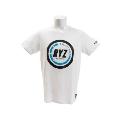 ライズ(RYZ) Tシャツ 半袖 CIRCLE 869R9CD6316 WHT (メンズ)