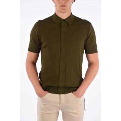 NEIL BARRETT/ニール バレット Green メンズ Slim Fit Polo Shirt dk