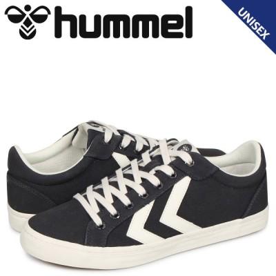 ヒュンメル hummel デュース コート スニーカー メンズ レディース DEUCE COURT グレー HM206425-2366
