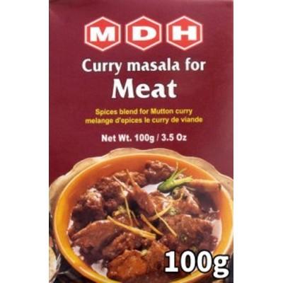 ミートカレーマサラ スパイス ミックス 100g 小サイズ 【MDH】 / インド料理 MDH(エム ディー エイチ) アジアン食品 エスニック食材