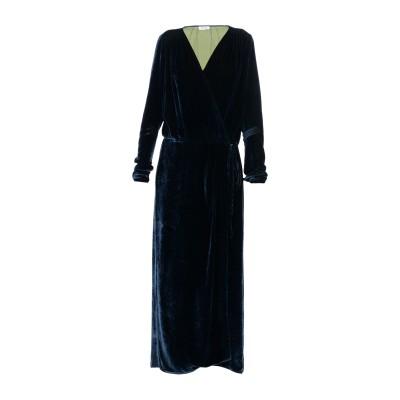 アティコ THE ATTICO 7分丈ワンピース・ドレス ダークブルー 3 82% レーヨン 18% シルク 7分丈ワンピース・ドレス
