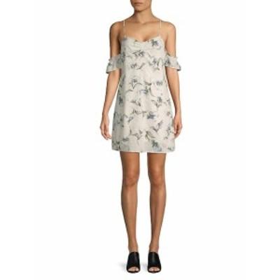 ルッカクチュール レディース ワンピース Floral Cold-Shoulder Dress