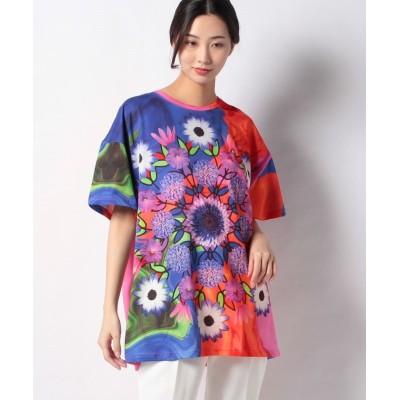 【デシグアル】 Tシャツ半袖 LUCA レディース イエロー系 F Desigual