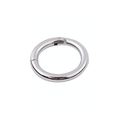 [PIASIN] サージカルステンレス製 軟骨ピアス シルバー リングピアス 片耳用 1点(太さ14G 1.6mm 内径8mm)