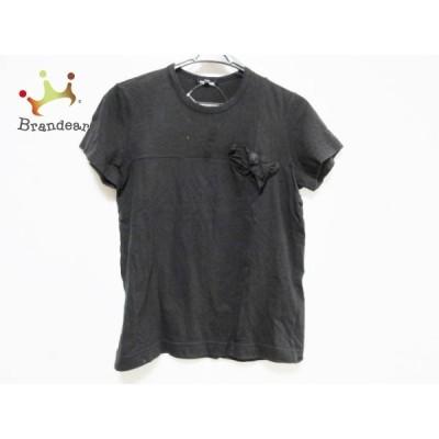 トリココムデギャルソン 半袖Tシャツ サイズM レディース - 訳あり 黒 クルーネック 新着 20201201