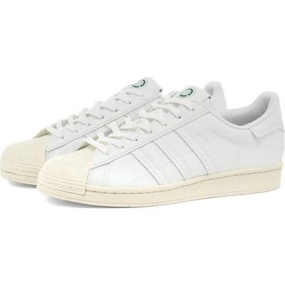 アディダス Adidas メンズ スニーカー シューズ・靴 Superstar Vegan White/Off White/Green