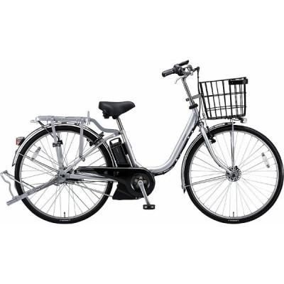【防犯登録サービス中】送料無料 ブリヂストン 電動アシスト自転車 アシスタビジネス B6UC47 Mファインシルバ-