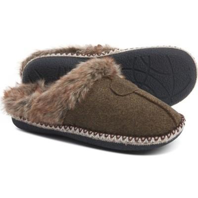 ラモフットウェアー LAMO Footwear レディース スリッパ シューズ・靴 Aurora Apres Scuff Slippers Brown