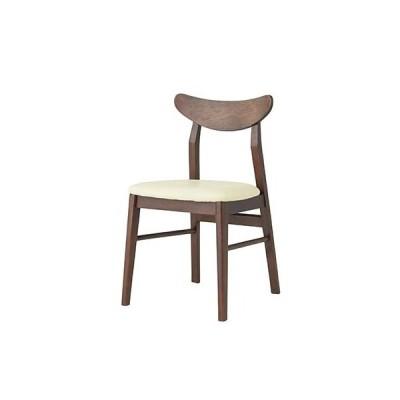 東谷(あづまや) A2-251IV 【お買い得! 2脚セット】ピアニッシモ チェア 椅子木製 飲食店用椅子 ダイニングチェア (アイボリー) (A2251IV)