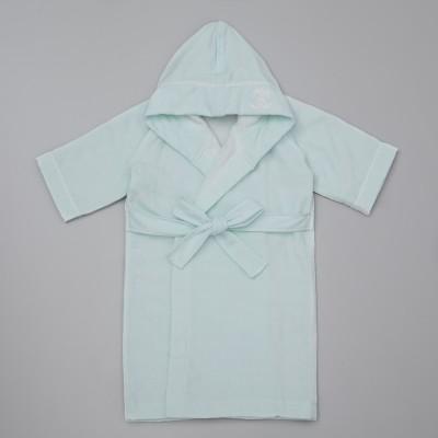 UCHINO TOWEL GALLERY ウチノ タオル ギャラリー  バニーベビーローブ70cm ブルー キッズ
