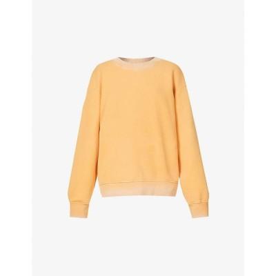 コットンシチズン COTTON CITIZEN レディース スウェット・トレーナー トップス The Brooklyn cotton-jersey sweatshirt Vintage Burnt Orange