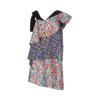 ミアハタミ MIAHATAMI ミニワンピース&ドレス ブルー 40 ポリエステル 87% / ポリウレタン 13% ミニワンピース&ドレス