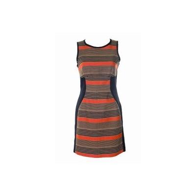 レディース ドレス・ワンピース シーニューヨーク SEA YORK ピンク/BEIGE/ブラック COMBO SHEATH ドレス サイズ 4