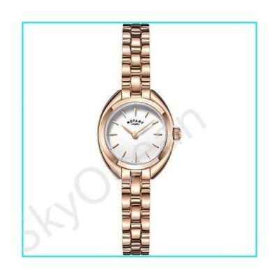Rotary LB05016-02 Ladies Timepieces Petite Rose Gold Plated Watch【並行輸入品】