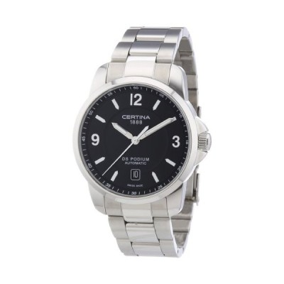 Certina Men's Watch XL Analogue Automatic C001,407,11,057,00 Stainless Steel 並行輸入品