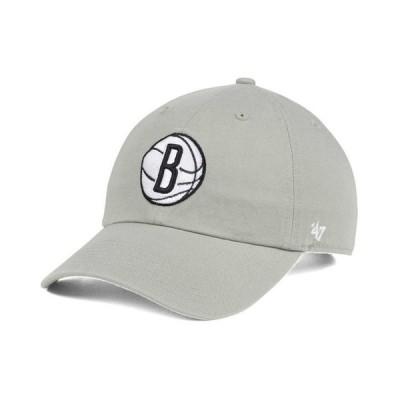 47ブランド メンズ 帽子 アクセサリー Brooklyn Nets Clean Up Cap