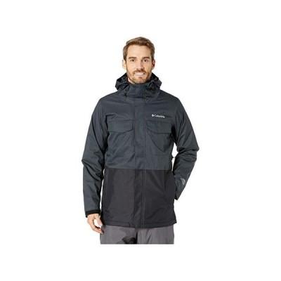 コロンビア Cushman Crest Interchange Jacket メンズ コート アウター Charcoal Heather/Black/Shark