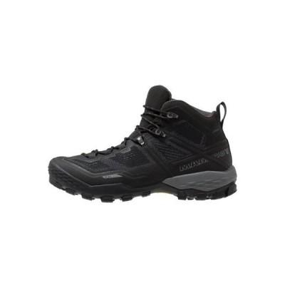 ウニサ メンズ スポーツ用品 DUCAN MID GTX - Hiking shoes - black/dark titanium