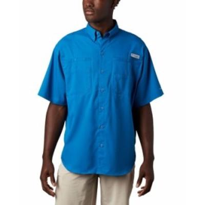 コロンビア メンズ シャツ トップス Men's PFG Tamiami II Short Sleeve Shirt Dark Pool