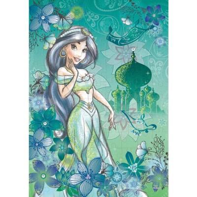 エポック社 パズルデコレーション ディズニー Jasmine(ジャスミン)-exotic emerald- 108ピースジグソーパズル 返品種別B