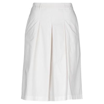 ペゼリコ PESERICO ひざ丈スカート ベージュ 42 コットン 96% / ポリウレタン 4% ひざ丈スカート