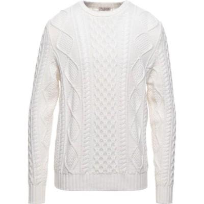 マックジョージ MC GEORGE メンズ ニット・セーター トップス Sweater Ivory