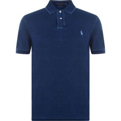 ラルフ ローレン Polo Ralph Lauren メンズ ポロシャツ トップス Slim Fit Stretch Mesh Polo Shirt Dark Indigo