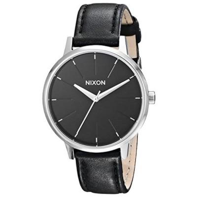 ニクソン 腕時計 レディースウォッチ Nixon Women's Kensington Stainless Steel Watch with Leather Band