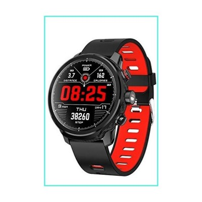 【新品】Smart Watch Sport Fitness Tracker Full Touch Screen Ultra-Long Battery Life Heart Rate Sleep Monitor Bluetooth Men Women(並行輸入品