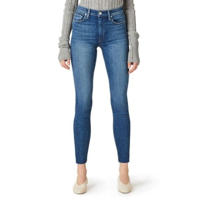 ハドソンジーンズ レディース デニムパンツ ボトムス Barbara Ripped High-Rise Ankle Skinny Jeans