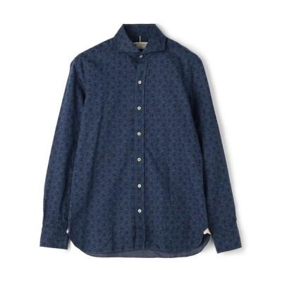 シャツ ブラウス LUIGI BORRELLI / ホリゾンタルカラーシャツ