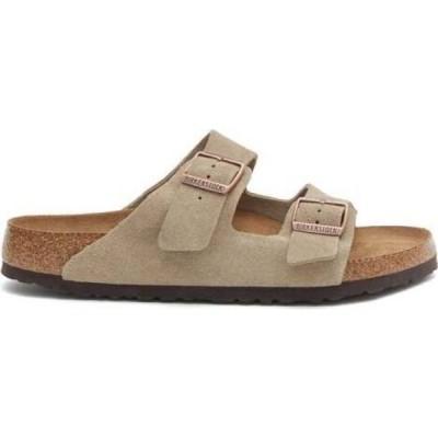 ビルケンシュトック Birkenstock メンズ サンダル シューズ・靴 Arizona suede sandals Beige