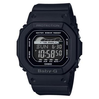 BLX-560-1JF カシオ ベビージー BABY-G  CASIO ベイビージー タイドグラフ 黒 ブラック レディース 腕時計 国内正規品