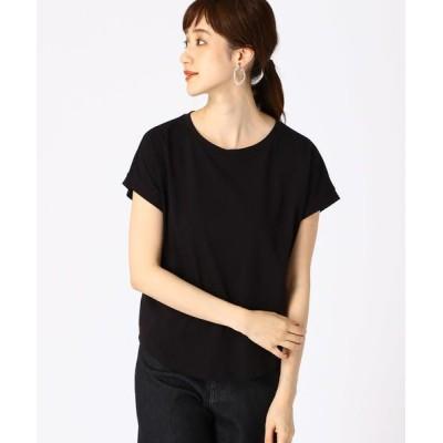 COMME CA ISM/コムサイズム 《コットン》 日本の伝統色(R)Tシャツ 墨色(ブラック) S