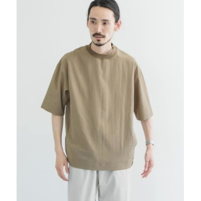 URBAN RESEARCH/アーバンリサーチ ドライメランジTシャツ BEIGE M