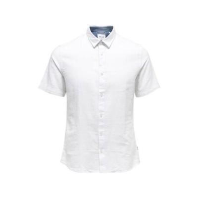 メンズ ファッション ONSCAIDEN SHIRT PLUS - Shirt - white