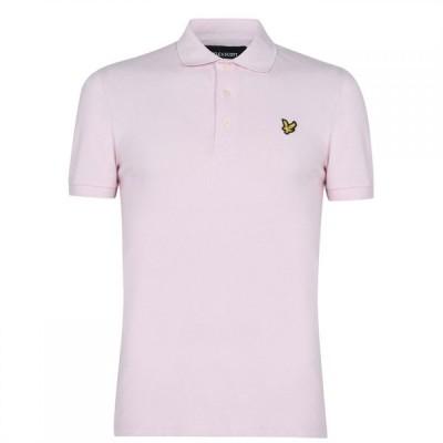 ライル アンド スコット Lyle and Scott メンズ ポロシャツ トップス Logo Polo Shirt StnWsh Pnk