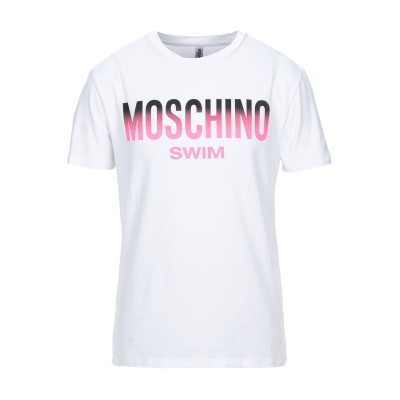 モスキーノ MOSCHINO T シャツ ホワイト XL コットン 92% / ポリウレタン 8% T シャツ