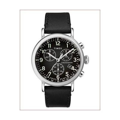 (新品)TIMEX タイメックス 時計 スタンダード クロノグラフ ブラック×ブラック TW2T21100 TW2T21100 F