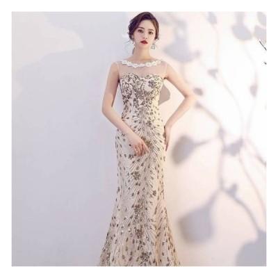 パーティードレス ロング丈 パーティードレス 大きいサイズ ワンピース ドレス ロング ワンピース マキシ ワンピース ロング ドレス 10代 20代 30代