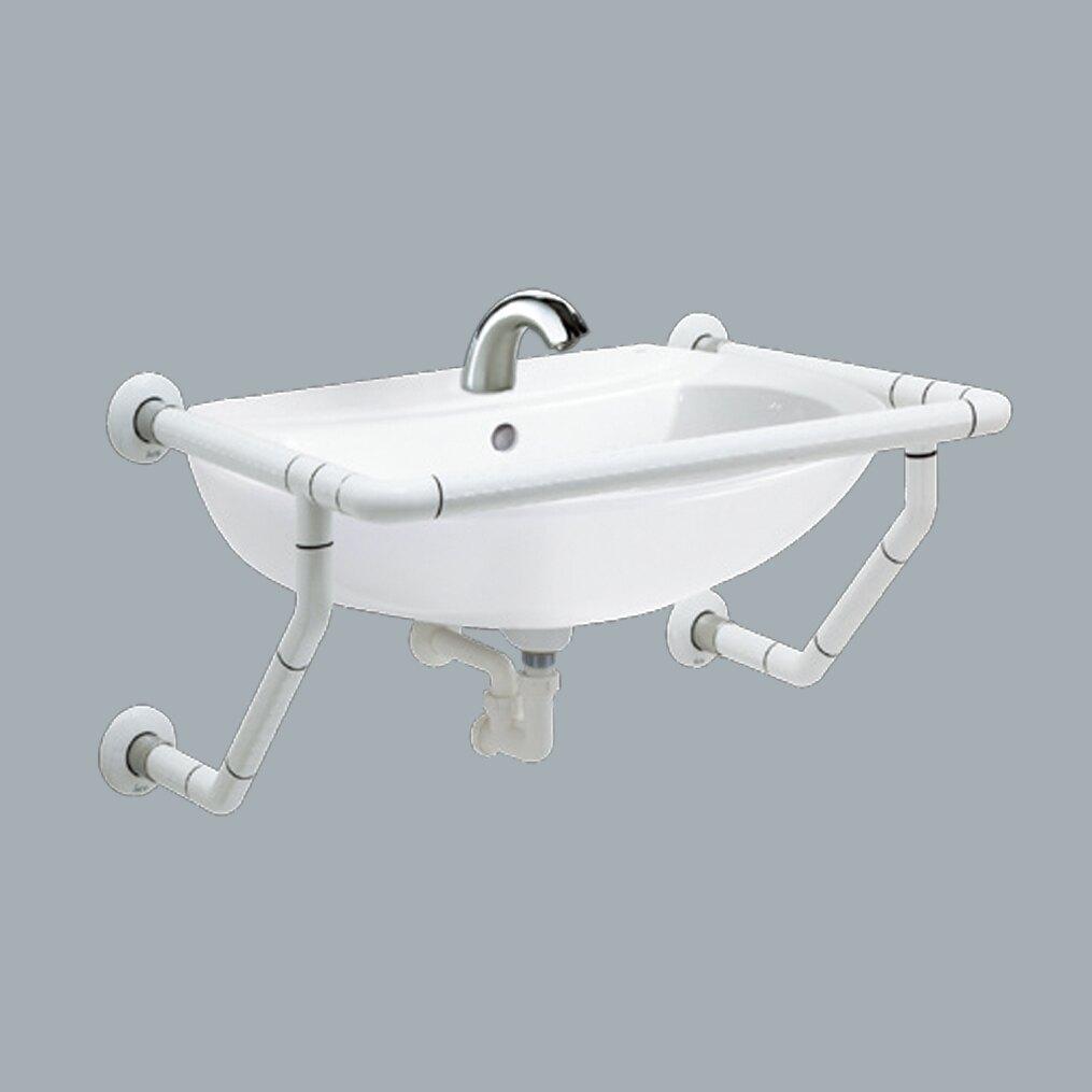 HCG洗臉盆(增安全)含龍頭/扶手/L2685-AF932