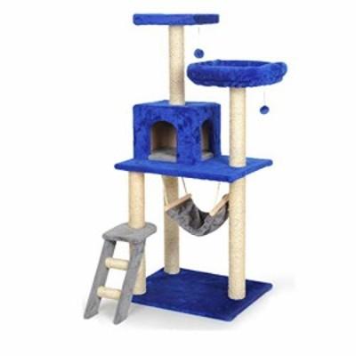 猫クライミングフレーム ペットデラックスキャットツリースクラッチポスト (新古未使用品)
