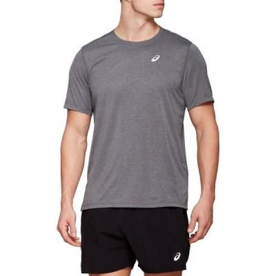 アシックス ASICS メンズ Tシャツ トップス Dorai Short-Sleeve T-Shirt Dark Grey Heather