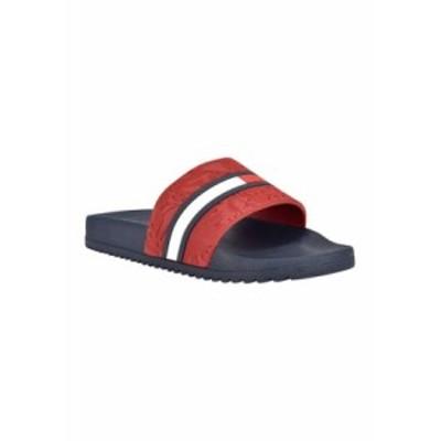 トミー ヒルフィガー メンズ サンダル シューズ Roben Pool Slide Sandals DRESY