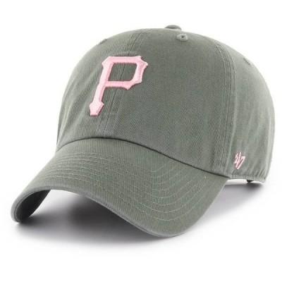 フォーティーセブン レディース 帽子 アクセサリー '47 Women's Pittsburgh Pirates Clean Up Adjustable Hat