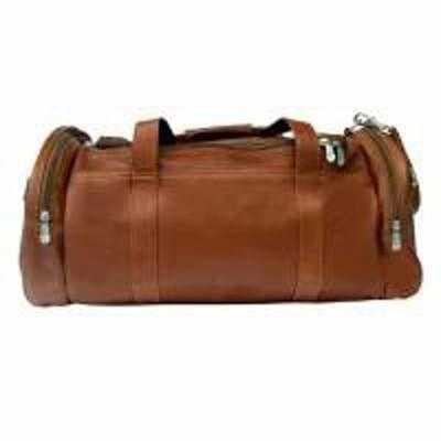 Piel メンズバッグ Piel Gym Bag - 23in Saddle