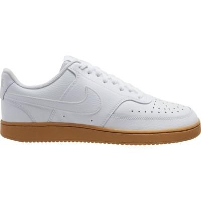ナイキ スニーカー シューズ メンズ Nike Men's Court Vision Shoes White/Gum