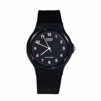 腕時計 カシオ メンズ Casio MQ24-1B Analog Watch Black 1 Size