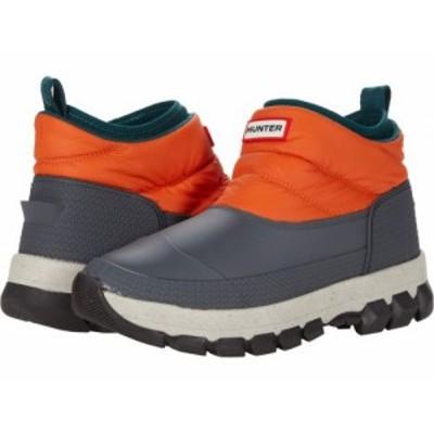 HUNTER ハンター レディース 女性用 シューズ 靴 ブーツ スノーブーツ Original Insulated Snow Ankle Boot Corten Orange【送料無料】