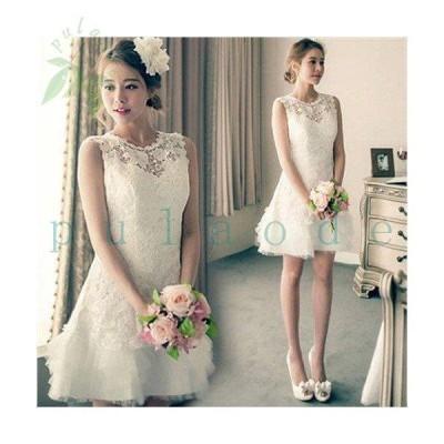 ドレス 二次会 花嫁 ウェディングドレス  エンパイア ミニ ドレス 演奏会 結婚式 二次会 マーメイドドレス ドレス 二次会 花嫁